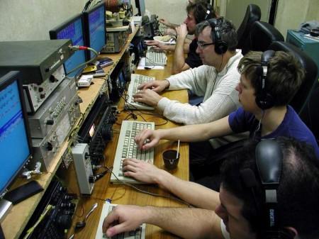 Station de radioamateur.