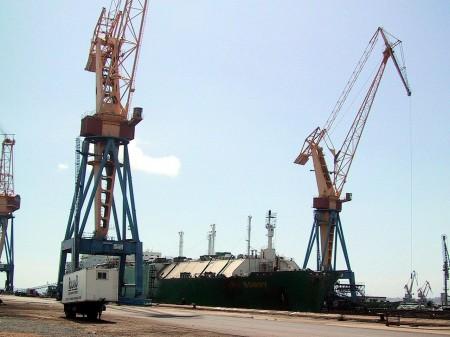 Methane Tanker LNG BONNY  droit d'auteur : Wikipedia – License CC0