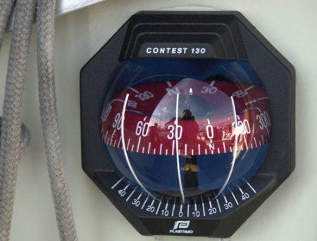 Boussole marine - droit d'auteur : Wikipédia - Domaine Public