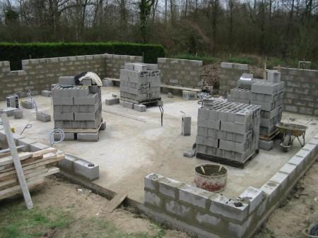 Parpaing construction - Droit d'auteur : Wikipedia– License CC0