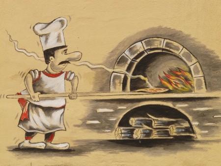 Pizza Maker Pizzeria Four À Pizza Chef Pizza Cuire - Droit d'auteur: Pixabay – License CC0