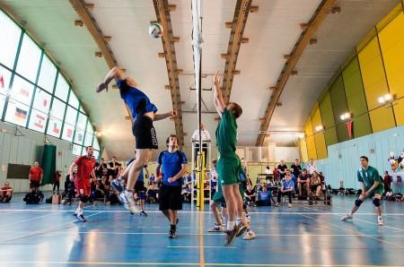 Match volley École polytechnique - Droit d'auteur: Wikipédia – License CC0