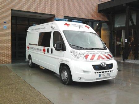 Peugeot Boxer Ambulance Croix-Rouge Strasbourg