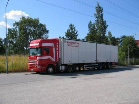 Europa flyer truck - Droit d'auteur: Wikipédia – License CC0