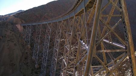 The viaduct La Polvorilla, Salta Argentina - Droit d'auteur: Wikipédia – License CC0