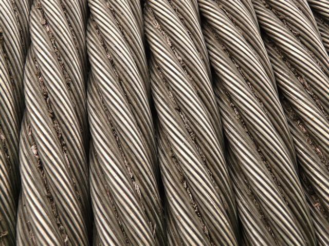 Câble En Acier Corde Métal Seilwindung De Fer