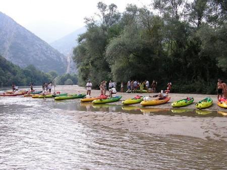 Canoe Kayak Nestos River - Droit d'auteur: Flickr – License CC0