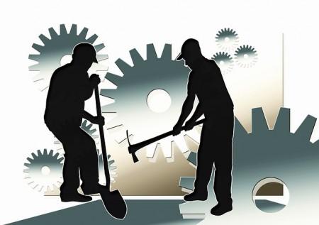 Travail Travailleurs Les Hommes Face Silhouette - Droit d'auteur: Pixabay – License CC0