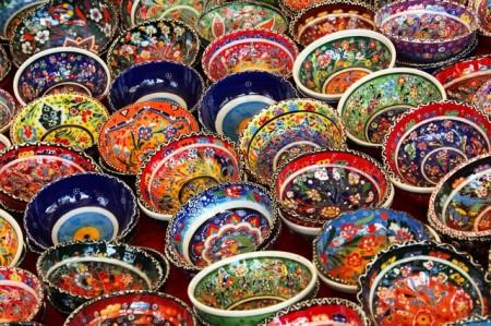 Art Arrière Plan Bol Céramique Couleur Coloré - Droit d'auteur: Pixabay – License CC0