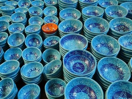 Histoire Poterie Coquilles Bleu Céramique Bol - Droit d'auteur: Pixabay – License CC0