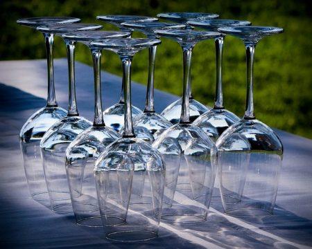 Verres À Vin Verres À Pied Cristal Accueil Partie - Droit d'auteur: Pixabay – License CC0