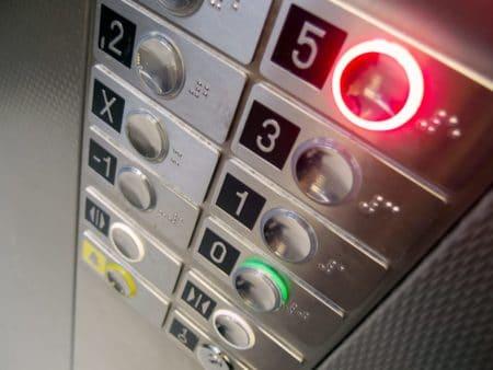 boutons ascenseurs