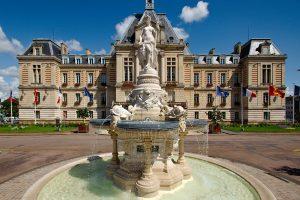 Fontaine de l'hôtel de ville de Evreux