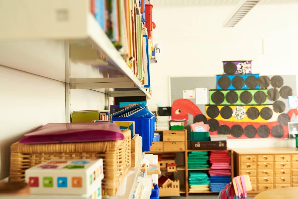 rangement classe école mobilier scolaire
