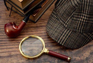 accessoires de detective